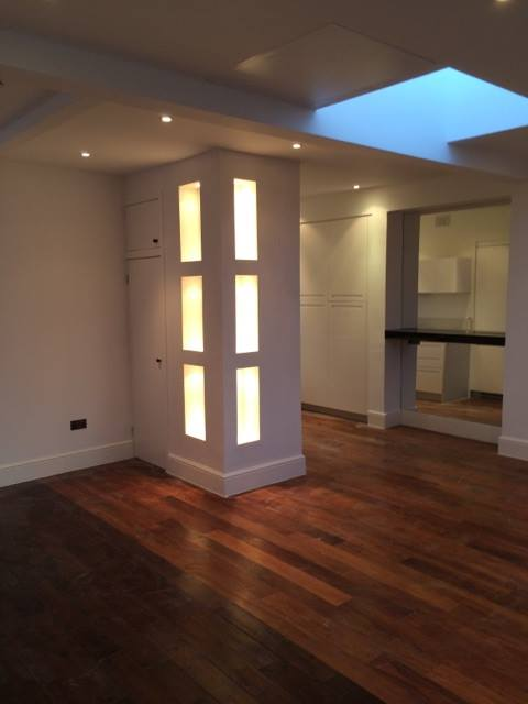 Display lighting installed by South East Electricians Chelsea SW9 London