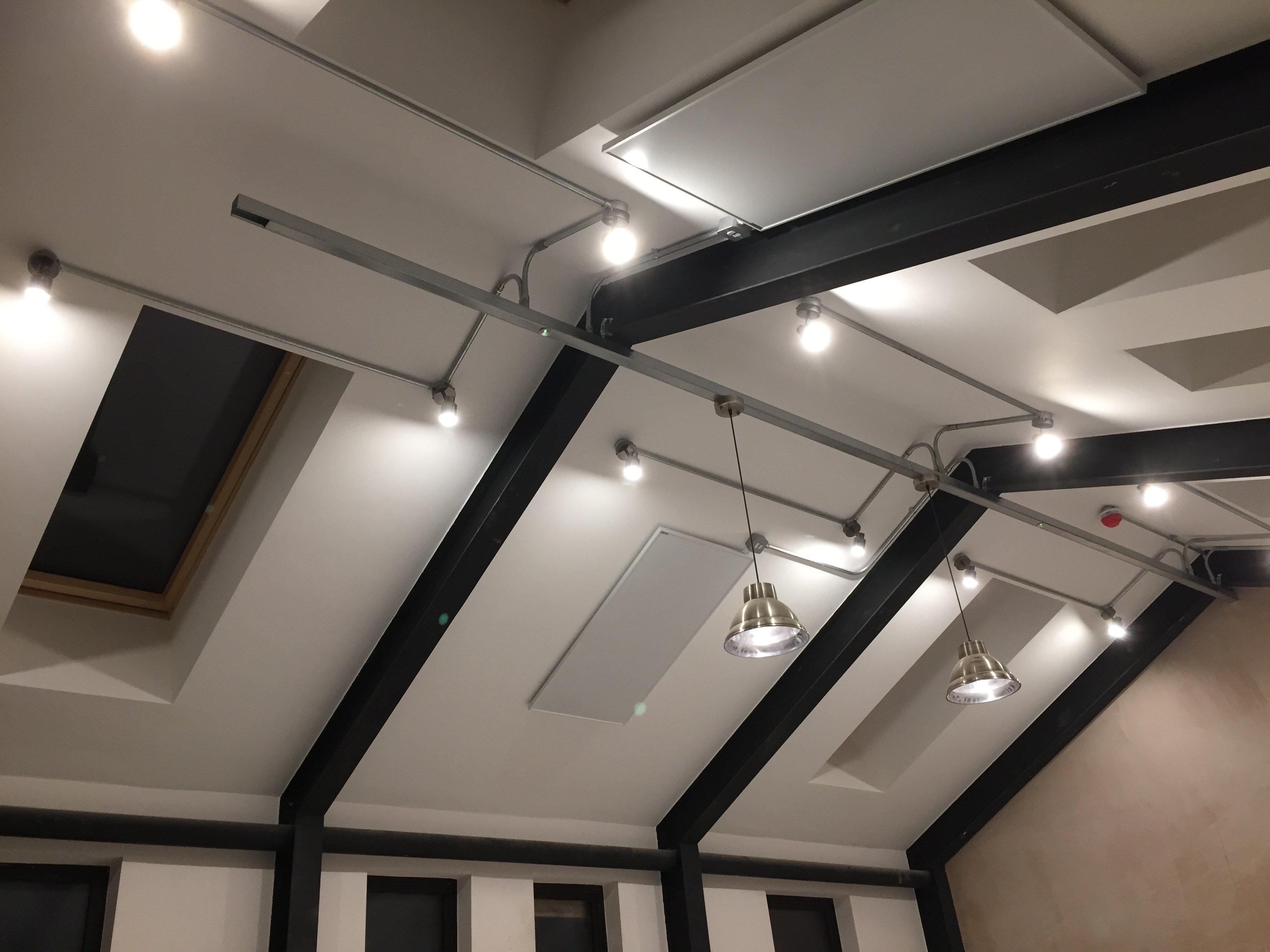 Office lighting installed by South East Electricians Hackney London
